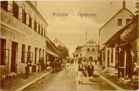 Prijedor, vecchia cartolina