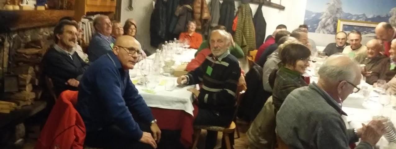 Immagini dalla cena sociale a Predazzo