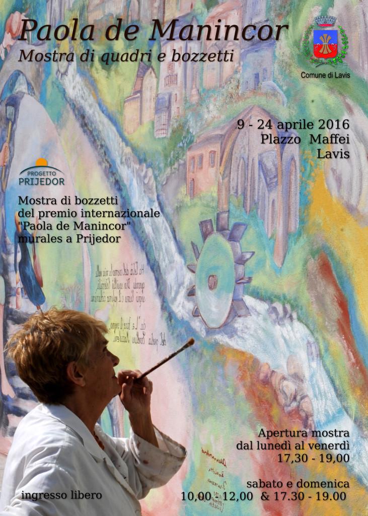 Evento Paola De Manincor a Lavis