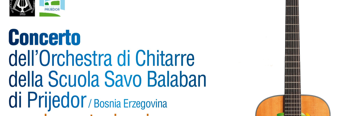 """LE SCUOLE MUSICALI """"SAVO BALABAN"""" (PRIJEDOR) E """"DIAPASON"""" (TRENTO) IN CONCERTO"""