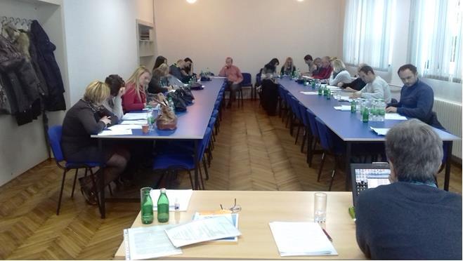 Seminario con insegnanti delle scuole