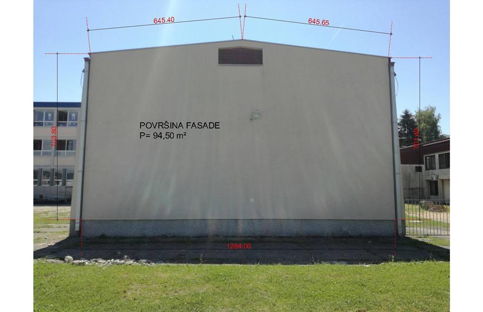 Facciata per il murale 2017