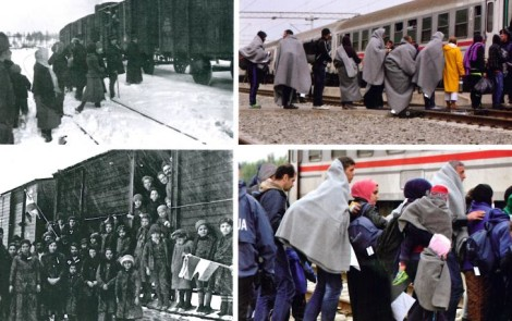 """Riflessioni sulla mostra """"OMBRE di guerra e di disperazione OMBRE come 100 anni fa"""""""