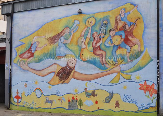 """Sabato 6 Aprile- Inaugurazione mostra """"Prijedor: città dei murales"""""""