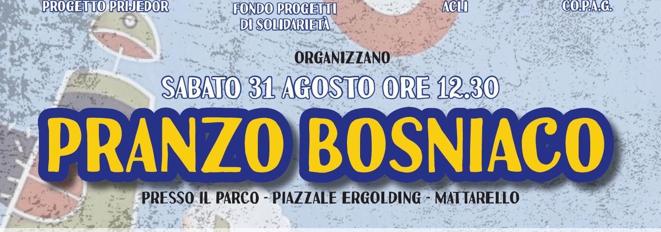 Pranzo Bosniaco, Teatro tra Prijedor e Trento e altro ancora