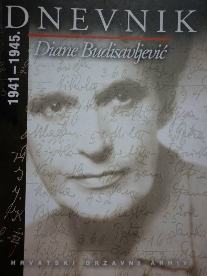 Il Diario di Diana Obexer-Budisavljević (immagine tratta da Wikipedia)