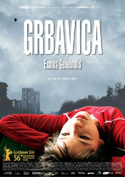 """La locandina de """"Il segreto di Esma (Grbavica)"""".  Immagini tratte da Wikipedia"""