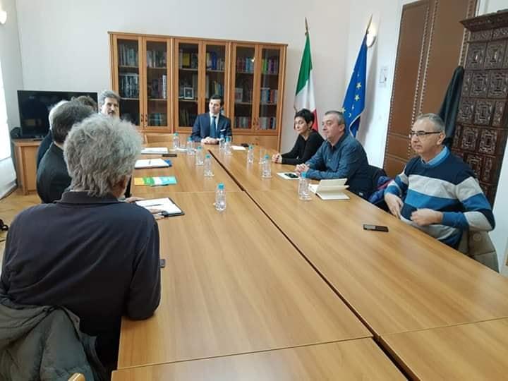 Incontro di APP e ATB con l'Ambasciatore italiano a Sarajevo