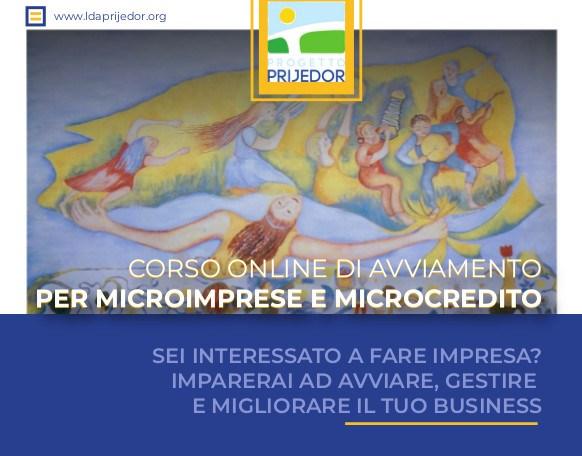 CORSO ONLINE DI AVVIAMENTO PER MICROIMPRESE E MICROCREDITO